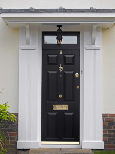 Security Certified Doors Zentry Silver Class 2 Front Door